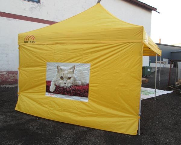 4x8m Pop up teltta Stereomedia