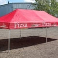 Pop up mainostellta 3x6m